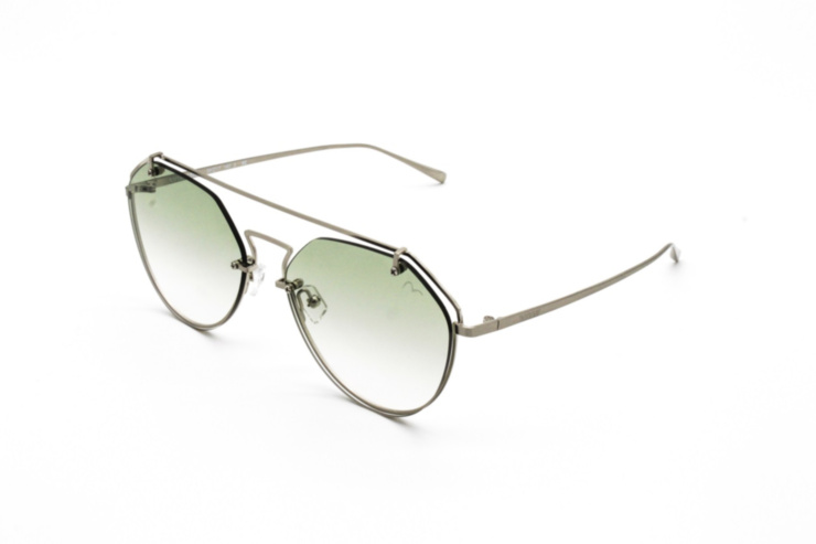 Angular Hanging Lens Sunglasses