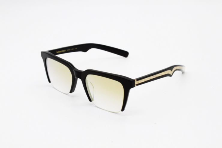 Cropped Square Sunglasses