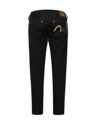 Seagull Embroidered Super Skinny Jeans