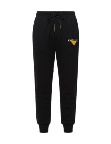 Reflective Seagull Print Sweatpants