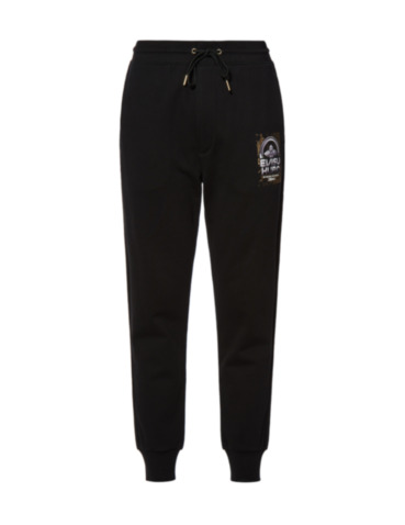 Ukiyo-E and Kamon Print Sweatpants