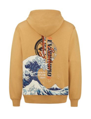 Ukiyo-E and Graphics Prints Hoodie