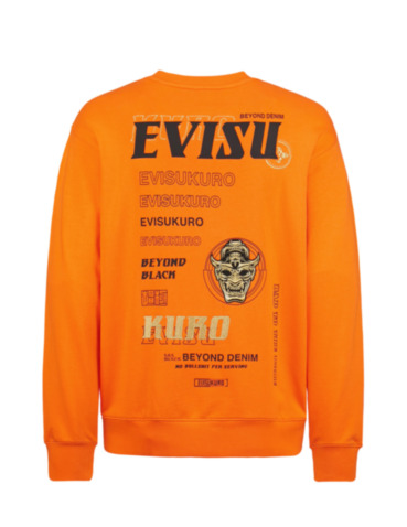 Multi-Logo and Graphics Print Sweatshirt