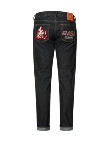Godhead and Logo Embroidered Slim Fit Jeans #2010