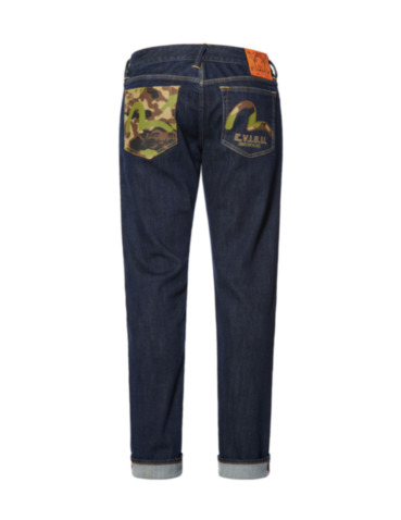 Camouflage and Seagull Regular Fit Jeans #2008