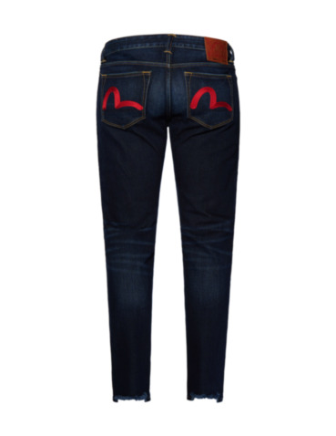 Seagull Embroidered Skinny Fit Jeans 2023