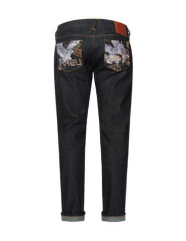 Taka Embroidered Pocket Slim Fit Jeans 2010