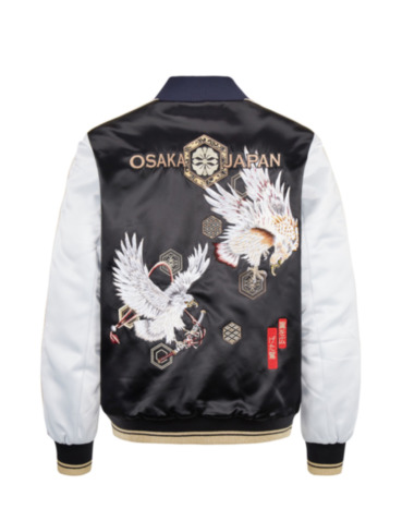 Double Taka Embroidered Padded Souvenir Jacket