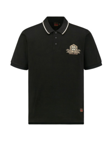 Kamon Embroidered Polo Shirt