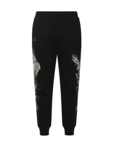 Taka with Kamon Pattern Print Sweatpants