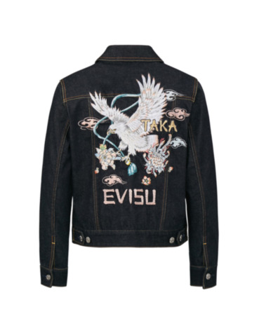 Taka Embroidered Denim Jacket